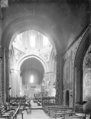 Eglise Saint-Nicolas - Vue intérieure du transept