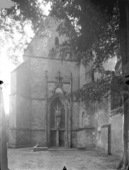 Ancienne abbaye Saint-Martin - Eglise - Façade ouest