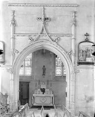 Ancienne abbaye Saint-Martin - Eglise - Vue intérieure du transept sud