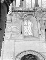 Eglise Sainte-Radegonde - Vue intérieure du choeur : 1ère fenêtre, côté nord