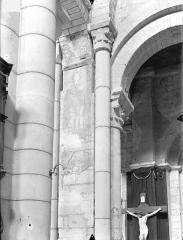 Eglise Saint-Hilaire - Peintures murales (restes)