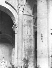 Eglise Saint-Hilaire - Peintures murales (restes) : Saint Quentin (supposé)