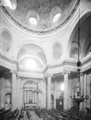 Eglise Saints-Pierre-et-Paul - Vue intérieure de la nef vers le nord : Coupole
