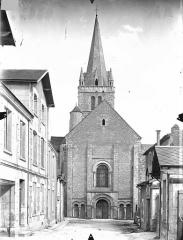Ancienne abbaye - Eglise - Ensemble ouest