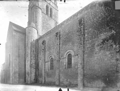 Ancienne abbaye - Eglise - Façade nord