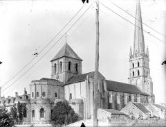 Ancienne église abbatiale - Ensemble nord-est