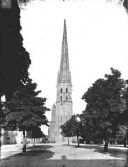 Ancienne église abbatiale - Ensemble ouest