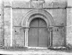 Eglise Saint-Pierre-et-Saint-Paul - Portail de la façade ouest