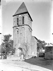 Eglise - Ensemble ouest : Clocher