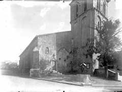 Eglise - Angle nord-ouest