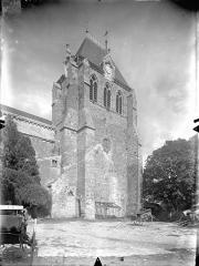 Eglise Saint-Georges - Façade sud : Clocher