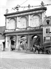 Porte Saint-Nicolas - Porte intérieure : Vue d'ensemble, du côté de la ville
