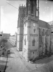 Eglise Saint-Martin - Angle sud-ouest
