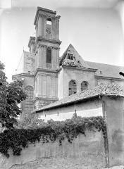Ancienne abbaye Sainte-Marie-Majeure ou des Prémontrés ou ancien petit séminaire - Eglise - Façade sud : Abside et tours
