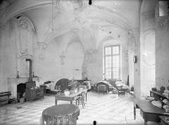 Ancienne abbaye Sainte-Marie-Majeure ou des Prémontrés ou ancien petit séminaire - Parloir (à l'angle nord-est du cloître) : Vue intérieure