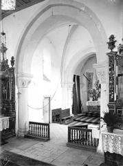 Eglise de Blanzey - Vue intérieure du choeur, vers le nord-est