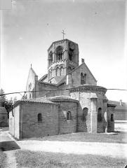 Eglise Saint-Hilaire - Ensemble sud-est
