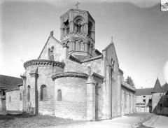 Eglise Saint-Hilaire - Ensemble nord-est