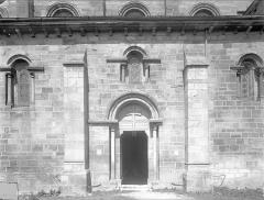 Eglise Saint-Hilaire - Façade sud : Porte