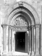 Eglise Saint-Hilaire - Portail de la façade ouest