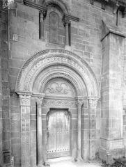 Eglise Saint-Hilaire - Portail de la façade nord