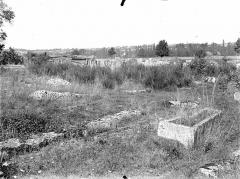 Cimetière gallo-romain - Sarcophages