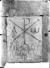 Eglise Saint-Gervais Saint-Protais - Dalle funéraire