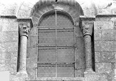 Eglise Saint-Pierre-et-Saint-Paul - Façade ouest : Fenêtre