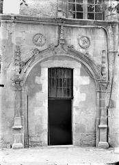 Ancien doyenné Saint-Hilaire - Porte donnant sur le jardin