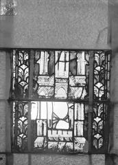 Eglise Saint-Gengoult et son cloître - Vitrail du transept nord, fenêtre B, 3ème lancette, panneaux  au dessus 21, 22