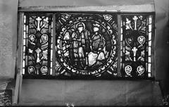 Eglise Saint-Gengoult et son cloître - Vitrail de l'abside, lancette gauche, panneaux supérieurs 4