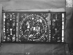 Eglise Saint-Gengoult et son cloître - Vitrail de l'abside, lancette gauche, panneaux supérieurs 5