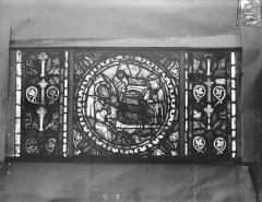 Eglise Saint-Gengoult et son cloître - Vitrail de l'abside, lancette de droite, panneau inférieur 16