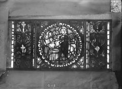 Eglise Saint-Gengoult et son cloître - Vitrail de l'abside, lancette de droite, panneau 18