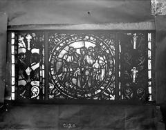 Eglise Saint-Gengoult et son cloître - Vitrail de l'abside, lancette de droite, panneau 21