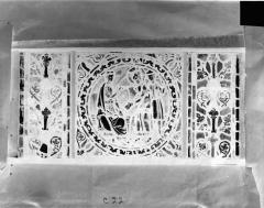 Eglise Saint-Gengoult et son cloître - Vitrail de l'abside, lancette de droite, panneau 23