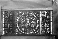 Eglise Saint-Gengoult et son cloître - Vitrail de l'abside, lancette de droite, panneau 26