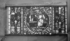 Eglise Saint-Gengoult et son cloître - Vitrail de l'abside, lancette de droite, panneau 27
