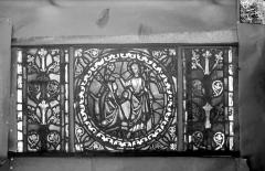Eglise Saint-Gengoult et son cloître - Vitrail de l'abside, lancette de droite, panneau 28