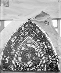 Eglise Saint-Gengoult et son cloître - Vitrail de l'abside, lancette de droite, panneau 30