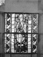 Eglise Saint-Gengoult et son cloître - Vitrail du transept sud, fenêtre A, 2ème lancette, panneaux supérieurs 11, 12