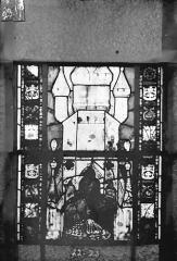 Eglise Saint-Gengoult et son cloître - Vitrail du transept sud, fenêtre A, 3ème lancette, panneaux 22, 23