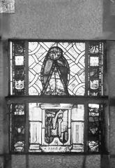 Eglise Saint-Gengoult et son cloître - Vitrail du transept sud, fenêtre A, 4ème lancette, panneaux 27, 28