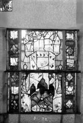 Eglise Saint-Gengoult et son cloître - Vitrail du transept sud, fenêtre A, 4ème lancette, panneaux 31, 32