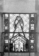 Eglise Saint-Gengoult et son cloître - Vitrail du transept sud, fenêtre A, 4ème lancette, panneaux 35, 36