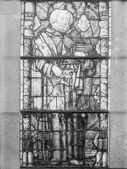 Eglise Saint-Gengoult et son cloître - Vitrail de la façade ouest, 1ère lancette à gauche 1, 2, 3