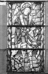 Eglise Saint-Gengoult et son cloître - Vitrail de la façade ouest, 2ème lancette à gauche 4, 5, 6