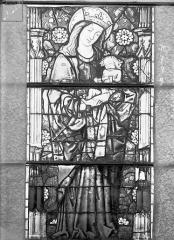 Eglise Saint-Gengoult et son cloître - Vitrail de la façade ouest, 3ème lancette à gauche 7, 8, 9