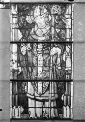 Eglise Saint-Gengoult et son cloître - Vitrail de la façade ouest, 4ème lancetteà gauche 10, 11, 12