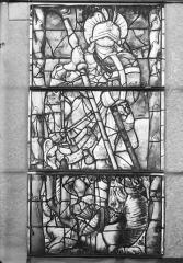 Eglise Saint-Gengoult et son cloître - Vitrail de la façade ouest, cinquième lancette à gauche 13, 14, 15